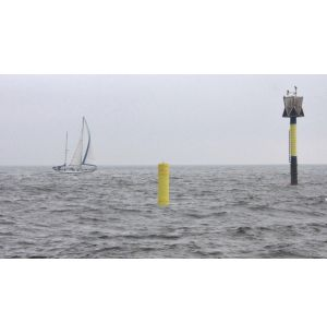 Oil Sensor-equipped Smart Buoy Delivers Data via Satellite