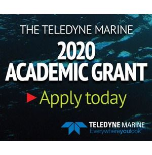 Teledyne Marine Announces 2020 Academic Product Grant