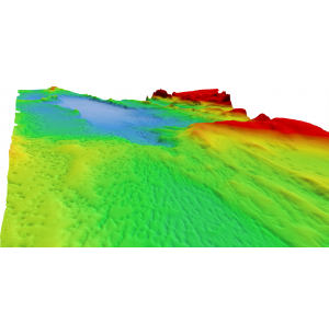 Remote-controlled USV Survey of Lake Superior Seabed