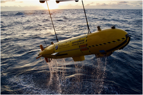 The HyBIS Robotic Underwater Vehicle collected more than 75 hours of high-definition video data.