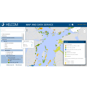 HELCOM Map and Data Service Renewed