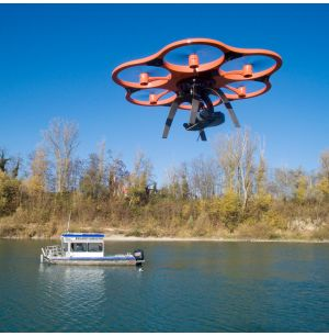 Integrating UAS and Multibeam Echosounder Data