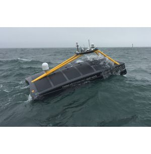 Remotely Controlled USV Undertakes Survey Work for Wind Farm