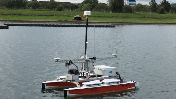 World's First Fully Autonomous Hydrographic Survey
