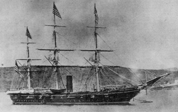 The first USS Tuscarora was a sloop of war in the United States Navy during the American Civil War.