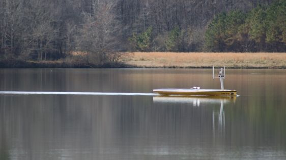 SeaTrac SP-48 USV Selected for Environmental Monitoring in Mississippi