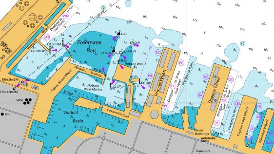 New Editions of Navigational Charts for Auckland Harbour Released