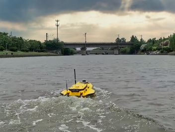 Using the Apache Unmanned Survey Vessel