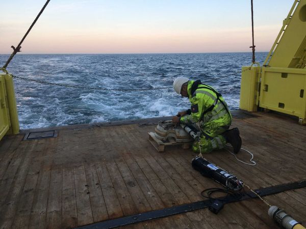 Jomopans, Underwater Noise Monitoring in the North Sea