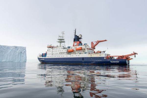 Researchers on board the German research icebreaker 'Polarstern' successfully mapped an area of seafloor previously covered by shelf ice.