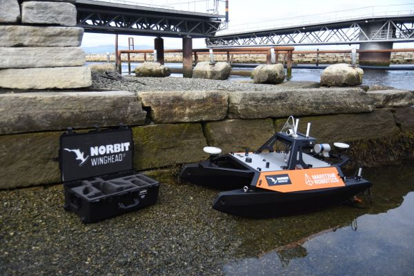 The Otter is a versatile USV designed for seabed mapping and monitoring applications in sheltered waters, harbours, lakes and rivers.