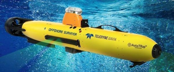 Teledyne Gavia Offshore Surveyor equipped with AutoTRap Onboard.
