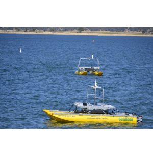 Unmanned Vessels to Assist in Saltwater Intrusion Research
