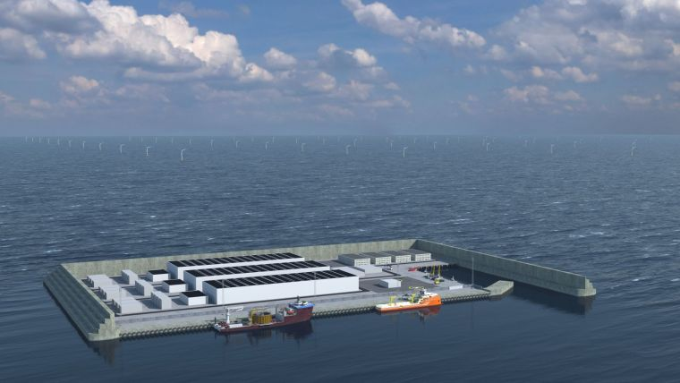 Fugro Wins Survey Contract for World's First Energy Island Hub