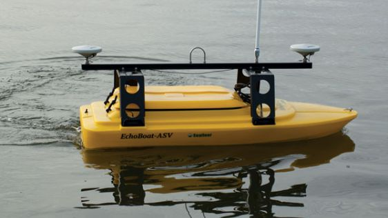 EchoBoat-G2 Survey Boat for Inspection, Asset Protection and SAR Surveys