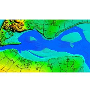 Airborne Lidar Survey to Create 3D Map of Northern Ireland's Coastline