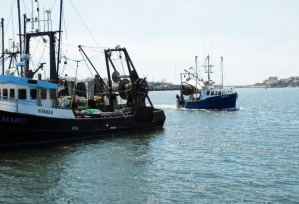 Fishing boats such as these can help us map the ocean floor. Image courtesy of NOAA.