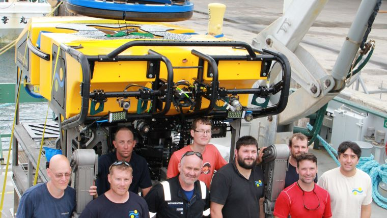 New ROV SuBastian Tested in Guam