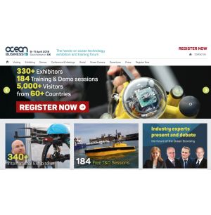 World's Biggest Ocean Technology Event Open to the Public