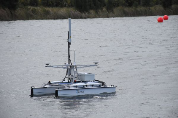 Figure 3: Unmanned vehicles are named as a key market trend and driver of hydrography. Image courtesy: 4D Ocean.