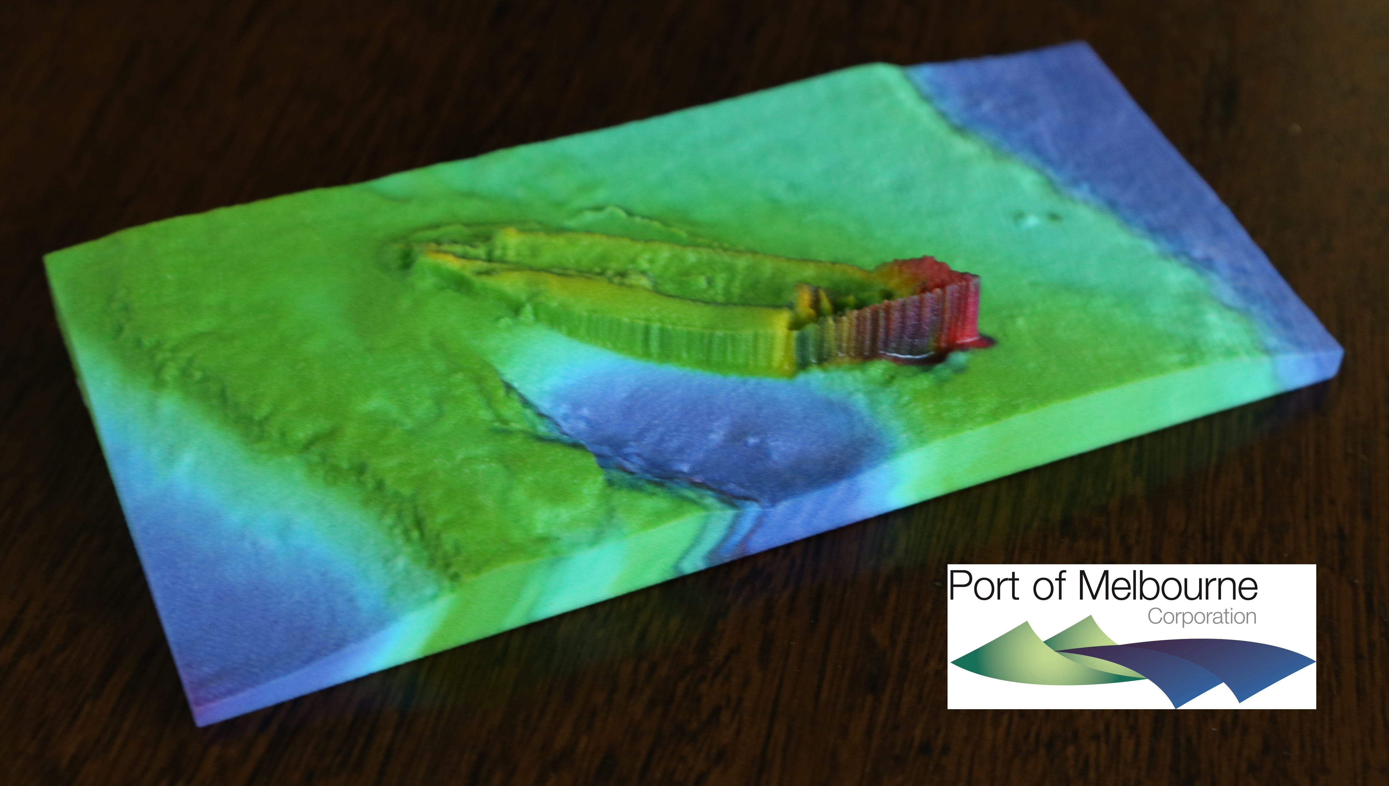 Figure 2 - Eliza Ramsden shipwreck from Multibeam