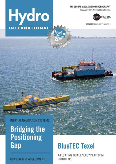 Hydro International Cover September 2016