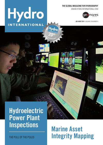 cover july august issue hydro international 2016